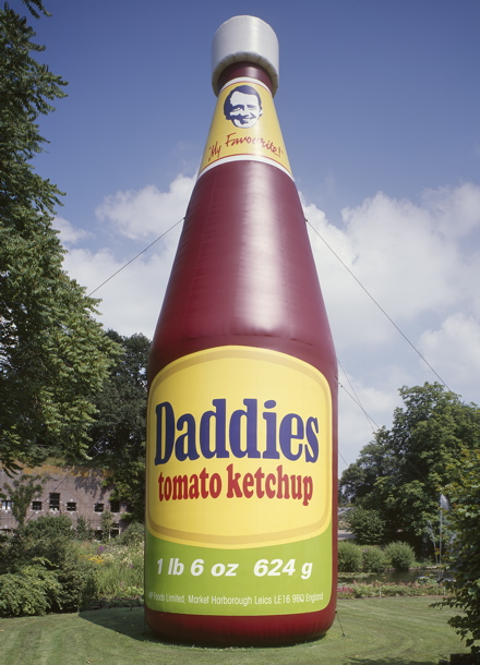 Paul McCarthy, Daddies Ketchup, Air Pressure, De Uithof