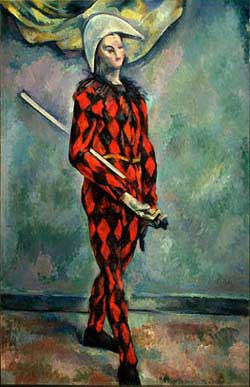cezanne arlequin picasso musee granet