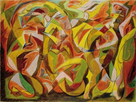 Pietzsch Collection, Massacre by Andre Masson. Via Artnet