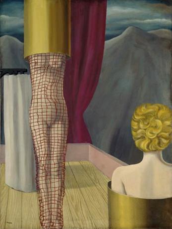 Pietzsch Collection. Magrittes Les Complices du Magicien.1926. viaArtNet