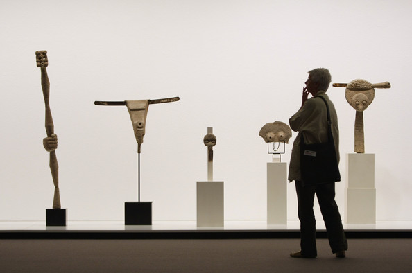 Pietzsch Collection. Sculptures by Max Ernst. Via Zimbio.