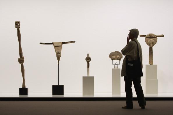 Pietzsch Collection. Sculptures by Max Ernst. Via Zimbio.