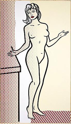 Roy Lichtenstein, Nude, 1997