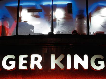 Simon de Pury PUREPURYGRAPHY Burger King Leicester Square
