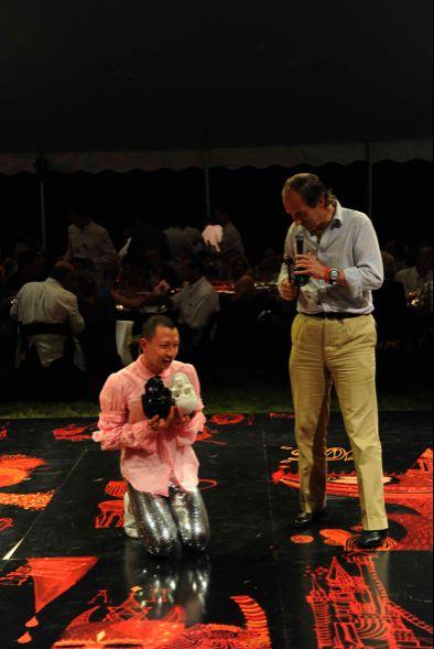 Terence Koh Simon De Pury Watermill Benefit Hamptons