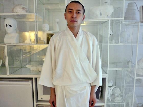 Terence Koh white