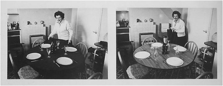 Terrence Bond, Mum in Kitchen, Boule to Braid, Lisson Gallery, Nicholas Logsdail
