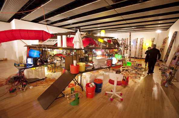 Jason Rhoades, Creation Myth, Walking in My Mind The Hayward Gallery