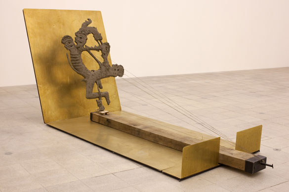 Mark Manders, Self-portrait as a Building, Walking in My Mindk Hayward Galelry