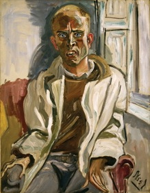 alice neel, randall in extremis, paint made flesh, the phillips collection