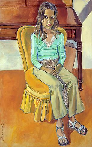 Alice Neel, Olivia, the Female Gaze: Women Look at Women, Cheim & Read