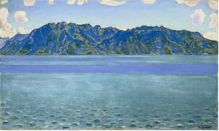 ferdinand hodler, le grammont, fondation l'hermitage, from cezanne to rothko, 20th century masterpieces in private swiss collections