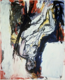 Georg Baselitz, Nude Elke 2, Paint Made Flesh, The Phillips Collection