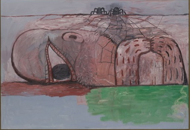 philip guston, web, Paint Made Flesh, The Phillips Collection