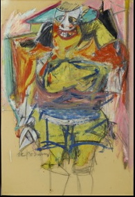 Willem de Kooning, Woman, Paint Made Flesh, The Phillips Collection