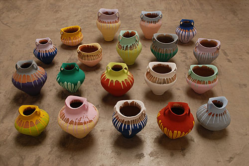 04_Ai-Weiwei-Colored-Vases according to what mori art museum