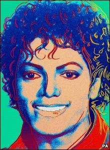 Michael Jackson Andy Warhol