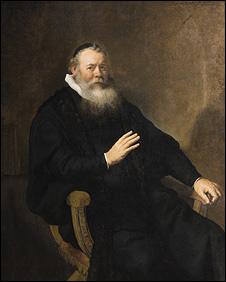 Rembrandt Portrait of Pastor Swalmius