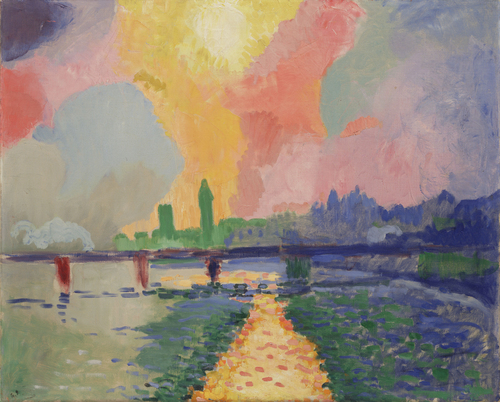 André Derain Charing Cross Bridge Rockefeller MoMA