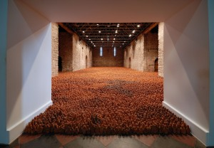 Antony Gormley Installation View