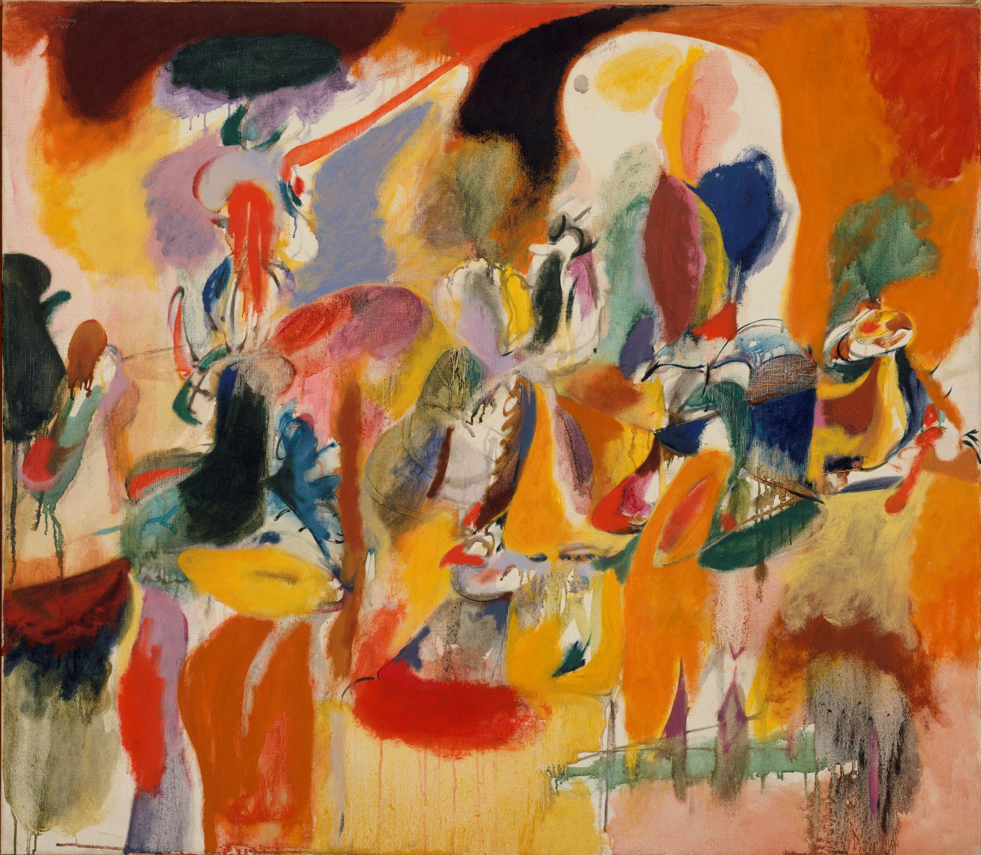 the life and paintings of arshile gorky The story is irresistible and also meaningful to his art: a cliché of the doomed romantic, a tall, black-eyed, fatalistic man, gorky began and ended life in spectacular misery.