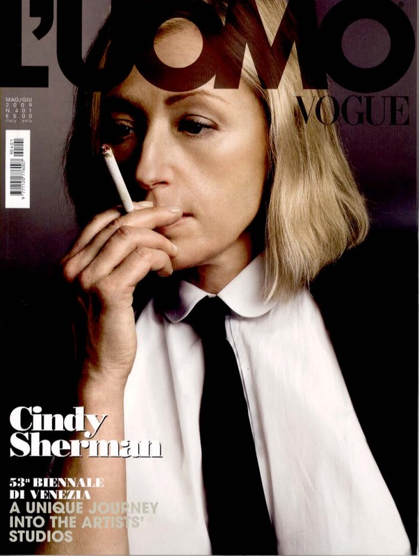 Vogue l'Uomo Cindy Sherman