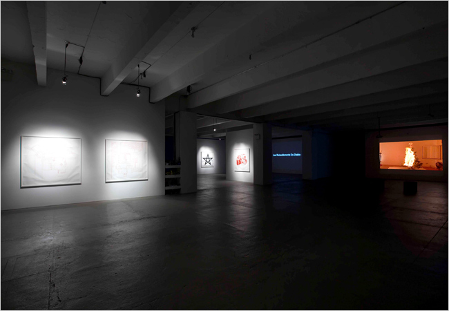 X Initiative Keren Cytter The Mysterious Serious installation view
