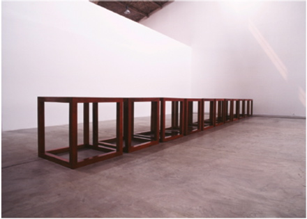 ai weiwei cubic meter tables according to what mori art museum