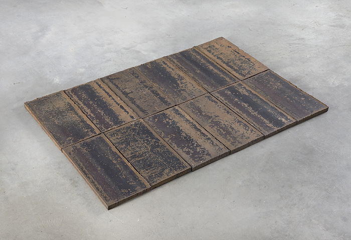 Carl Andre, Andrea Rosen Gallery Header Row