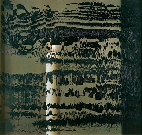 gerhard richter Kerze III Overpainted Photographs