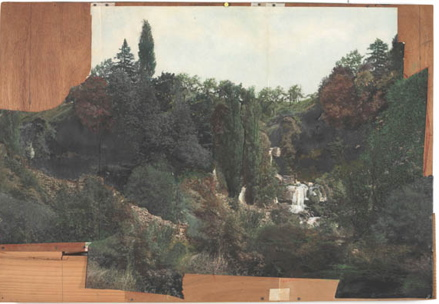marcel duchamp, study for landscape backdrop of étant donnés, philadelphia museum of art