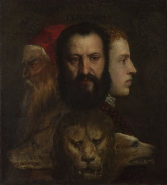 titian an allegory of prudence national gallery triumph of love