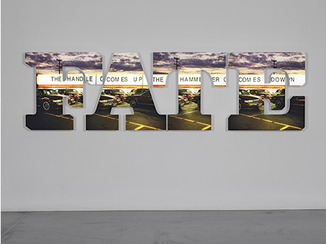 Doug Aitken - Regen Projects - the handle comes up the hammer comes down