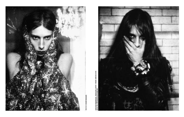 Jamie Bochert journal 27 fashion spread