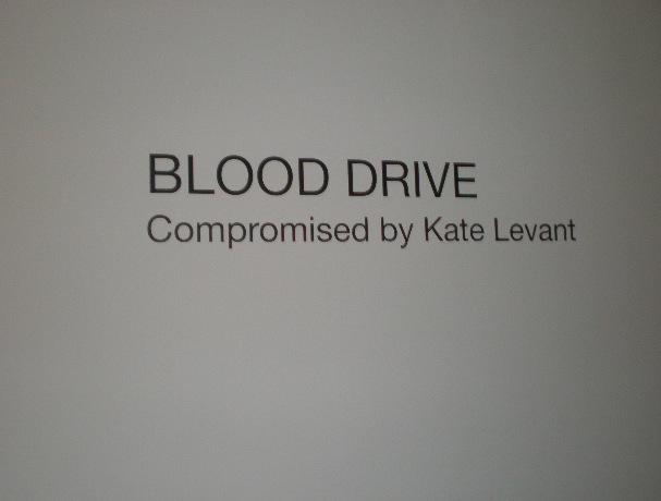 Blood Drive Kate Levant Zach Feuer