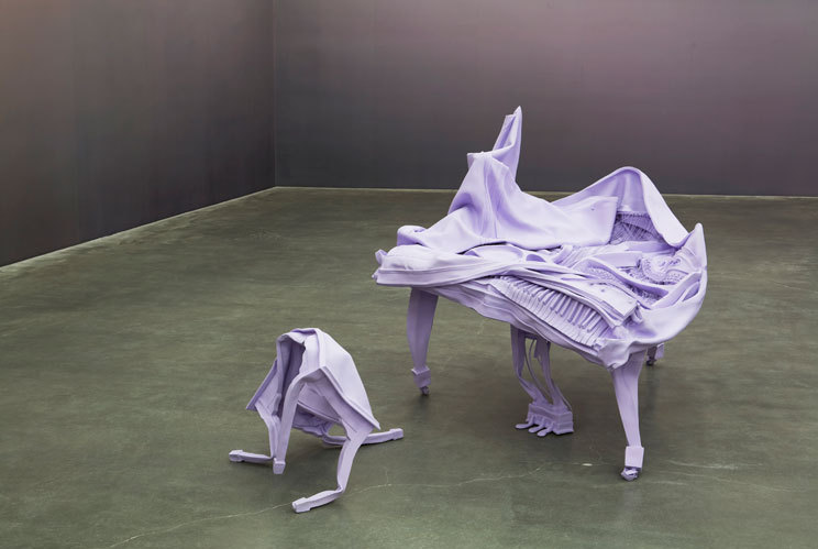 Urs Fischer Marguerite de Ponty New Museum untitled