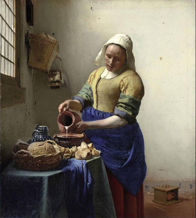 Vermeer_The_Milkmaid