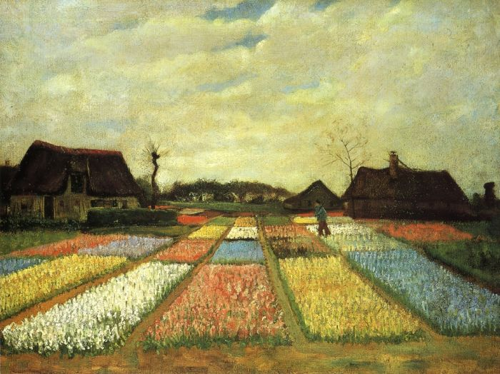 bulb-fields-aka-flower-beds-in-holland van gogh kunstmuseum basel