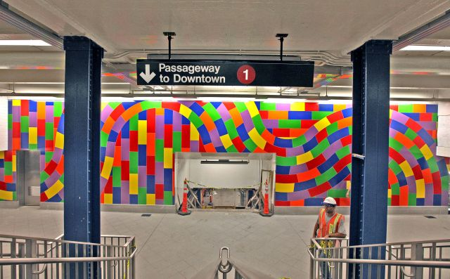 MTA Arts for Transit Sol LeWitt