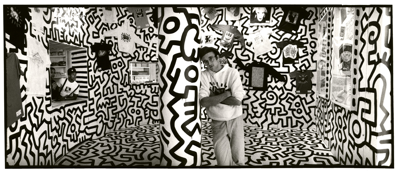 pop shop keith haring pop life