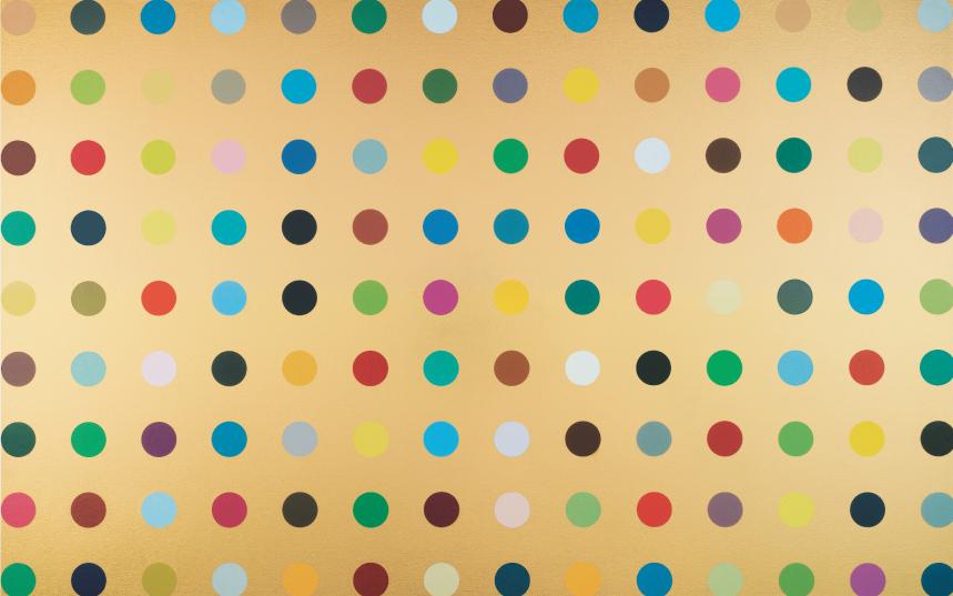 aurothioglucose damien hirst 2008 Tate Modern pop life