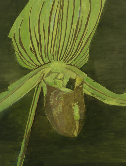 5orchid-Luc Tuymans-1998