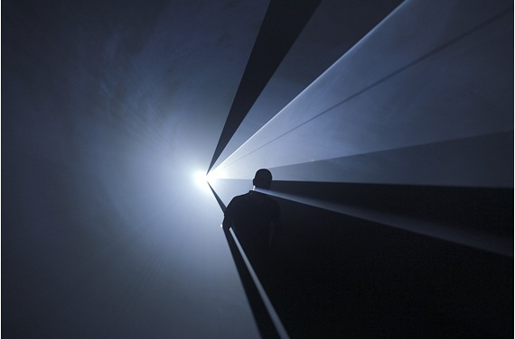 Anthony McCall Moderna Museet You and I Horizontal