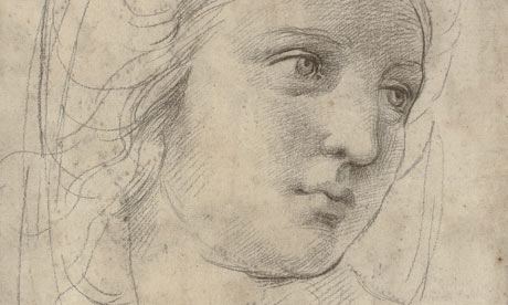 Head of a Muse Raphael