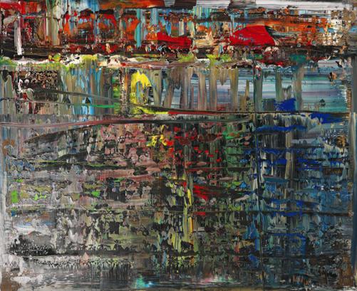 Abstraktes Bild by Gerhad Richter sothebys