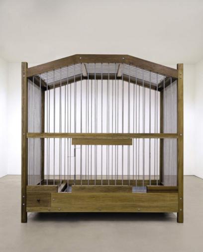 Untitled (Baalbeck Birdcage) Mona Hatoum