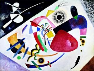 Red Spot II-Kandinsky-1921