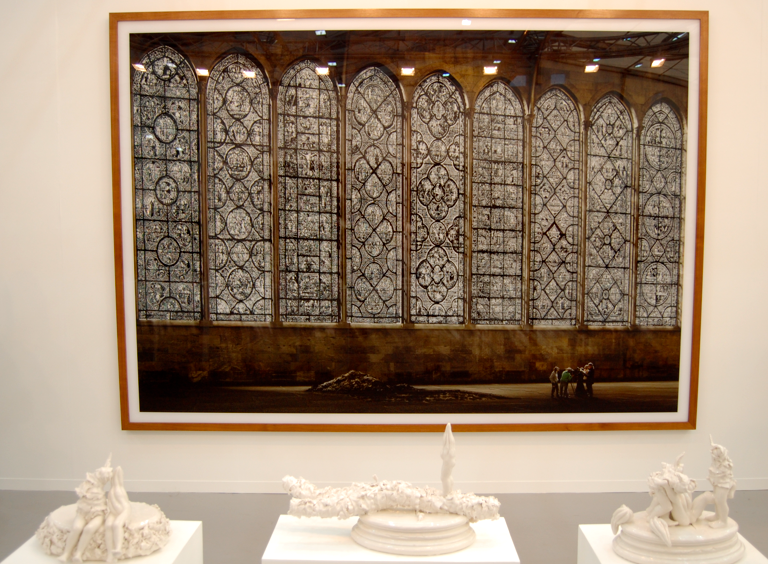 Andreas Gursky 'Kathedrale I' and Rachel Kneebone 'Stations'