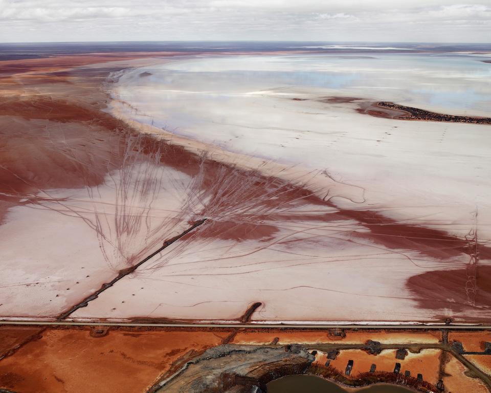 Silver Lake Operations #12 Edward Burtynsky Oil Australia Photography