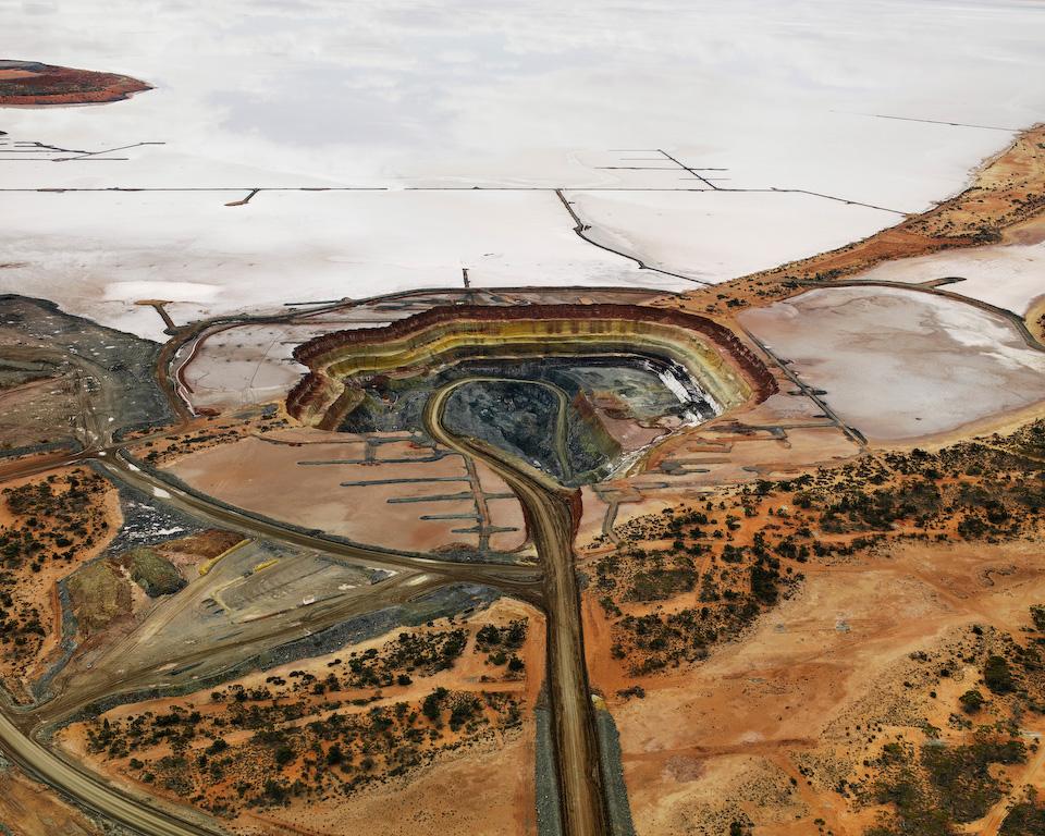Silver Lake Operations #5 Edward Burtynsky Photography Australia Oil